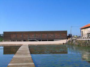 Edifício principal do NMSF, comportando recepção, exposição permanente, área de exposições temporárias, zonas de estadia, WC e arrumos