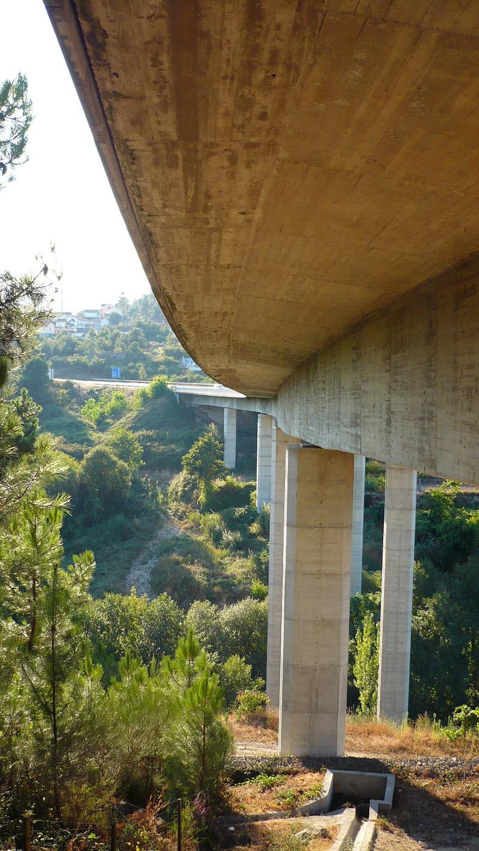 Viaduto do IP4, em Trás-os-Montes.